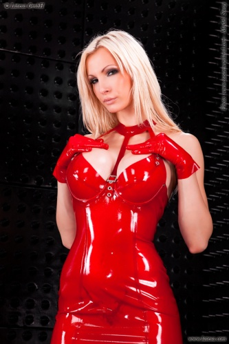 Latex Minikleid - la-3045