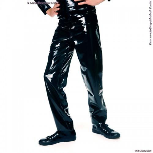 Latex Heren Jeansmodel 501 van Latexa - la-3037