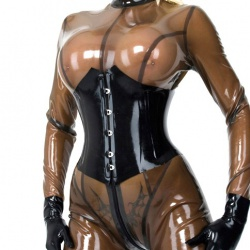 Latex Mieder von Latexa - la-1219