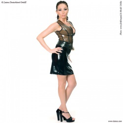 Latex Skirt by Latexa - la-3006