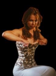 Safari corset - et-ec001-saf
