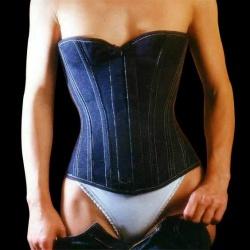 Denim Jeans Half bust - ET-EC001-JEA