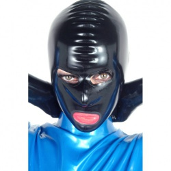 Latex Masker met Rits van Latexa - la-1109-02z