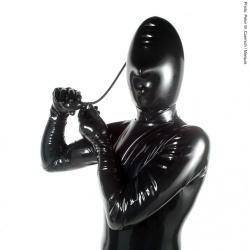 Latexmaske Aufblasbar von Latexa - la-1307