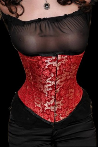Zijden corset - ET-EC005-seide