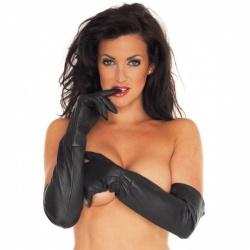 Handschuhe lang Leder - ri-7235