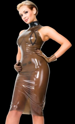 Latex Minidress - La-3055