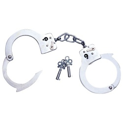 metal Hand Cuffs - Or-05250060000