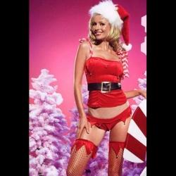 Sexy Santa Christmas Costumes Leg Avenue 53003 - leg-53003