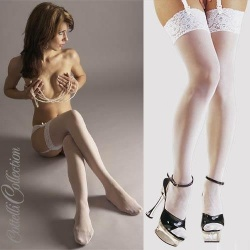 White stockings - or-02309100000