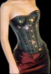 Zijden corset - ET-EC007-BLGO
