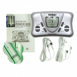 Electro powerbox set met LCD display - ri-7880
