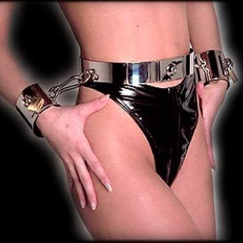 stainless steel Bondage Belt by Lust und Liebe - LL-FE050