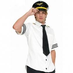 Pilot Captain Costume size M/L - leg-83263