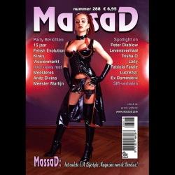 Massad BDSM Magazine 288 - Massad editie februari - maart 2018 - ms-massadmagazine