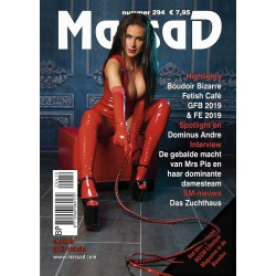 Massad BDSM Magazine 294- Massad editie Maart - April 2019 - ms-massadmagazine