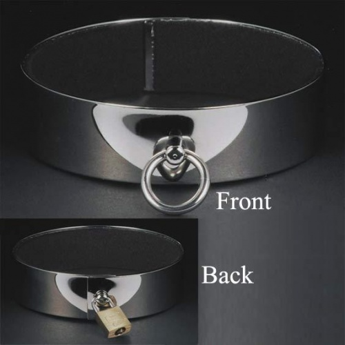Jewellery collar with padlock - ll-hb007