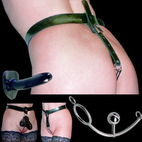 Bondage String Harness - LLBSH001