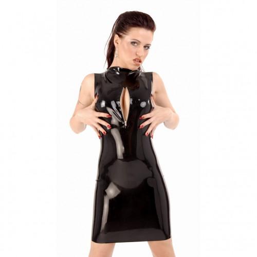 Latex mini dress with Zipper by Anita Berg - ab4061