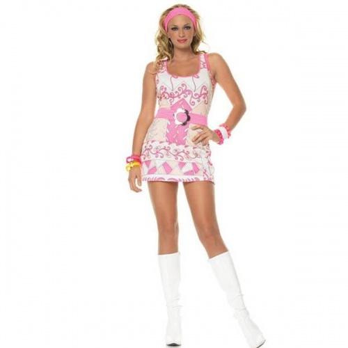 Retro Groove Costume - Leg-83303