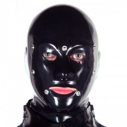 Latex Anatomical BDSM System Mask by Latexa