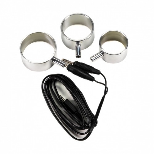 Electro set aluminum cockrings - rimba-7871