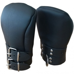 Deluxe Padded Leather Fist Mitts - xr-st540