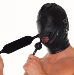 Leder Maske - ri-7575