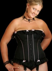 Lace Corset custom made by Axfords - Ax-C135XL