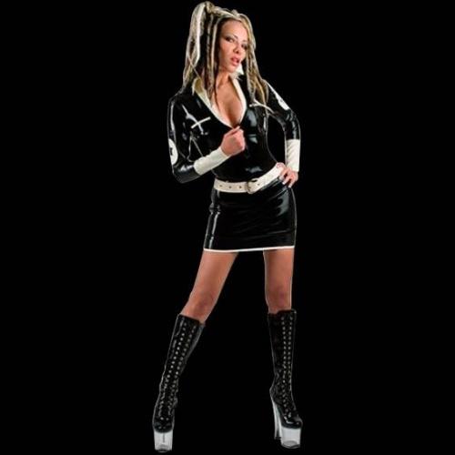 Latex Police Girl - EC-HTD-034