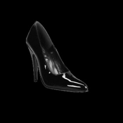 Klassische Sexy Schwarz Lackleder 12 cm High Heel Pumps - hg-3262