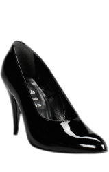 Classic Black Pump, 3 inch heel - shoe size: 35 + 36  - hg-6262