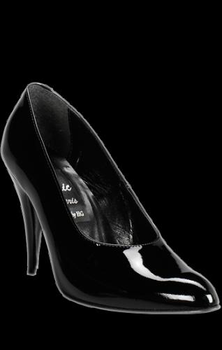 Classic Black Pump, 3 inch heel - shoe size: 35 + 36 + 40 - HG-6262