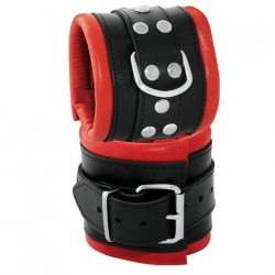 Wrist Cuffs Black-Red - os-0102-2r