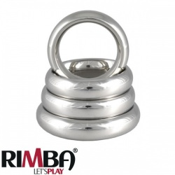 Donut Cockring RVS. 1.5 cm. breed - ri-7377