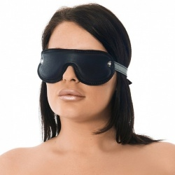 Padded Leather Blindfold - ri-7576