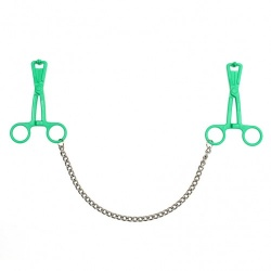 Nipple clamps, scissors with chain model - ri-7676