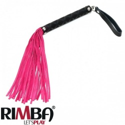 Small Suede whip - Pink - Ri-7966