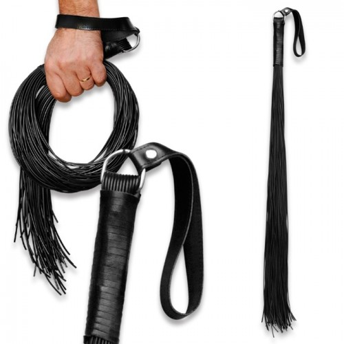 1 m long Latex whip with 48 threads  - os-0159-1