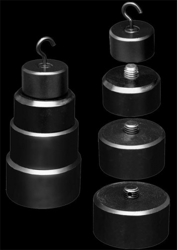 1 kg / 35 Oz pyramid weights - os-0257