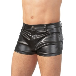 Black Wetlook Boxer - Or-2130483