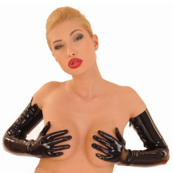 Long Latex Opera Gloves by Anita Berg AB4056 - ab4056z