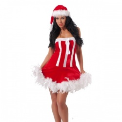 Rimba - Christmas Dress + Hat - ri-1814