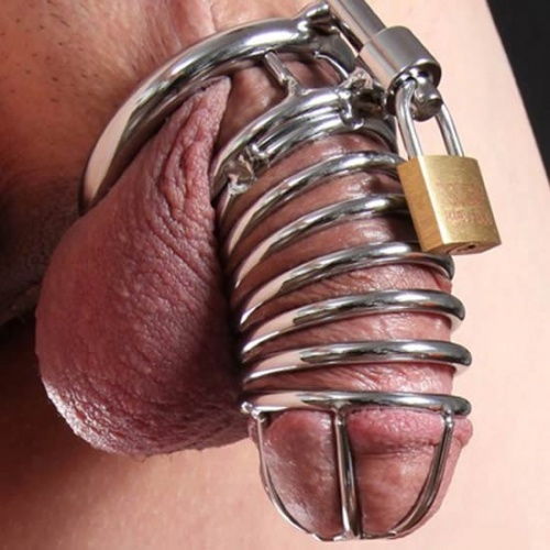 The Jail House Chastity Device (3 ringen) - xr-ab813