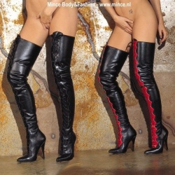 Lace-up tight boots - ri-754