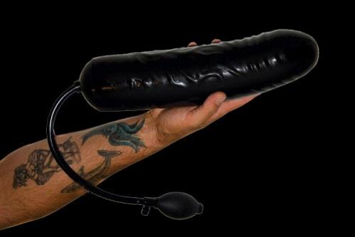 Opblaasbare gigantische dildo! - xr-ab524