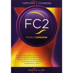 Femidom Female Condom 3 pcs - ep-e20743