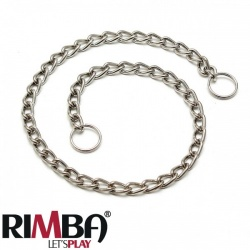 Chain twisted with rings 50 cm or 100 cm - ri-7766-7765