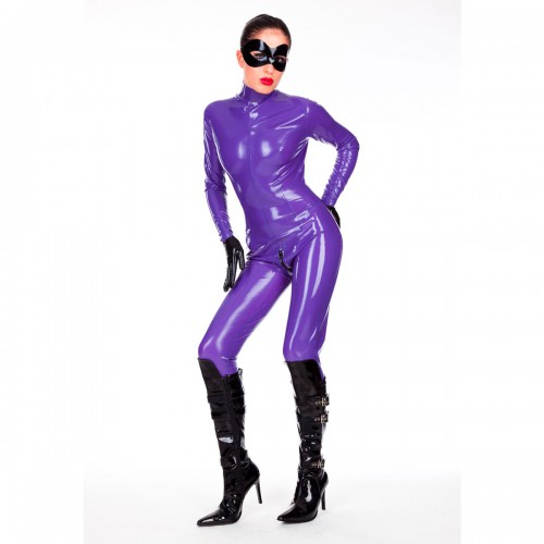 Latex Ladies' Anatomical Catsuit by Latexa - la-3085