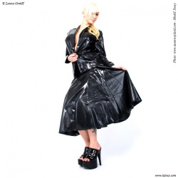 Rode latex swinger rok van Latexa - la-3010
